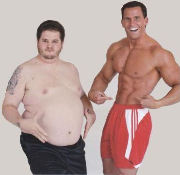 бодибилдинг жир на животе
