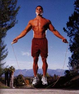 Упражнения со скакалкой для похудения